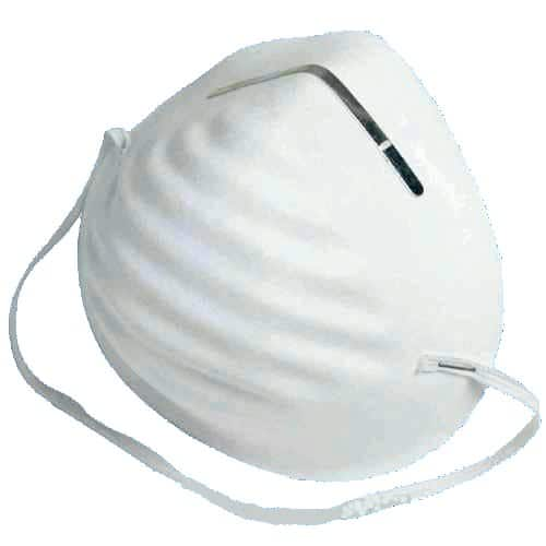 dust mask for prepping