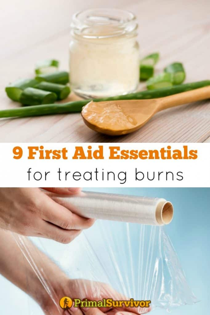9 First Aid Kit essentials for treating burns