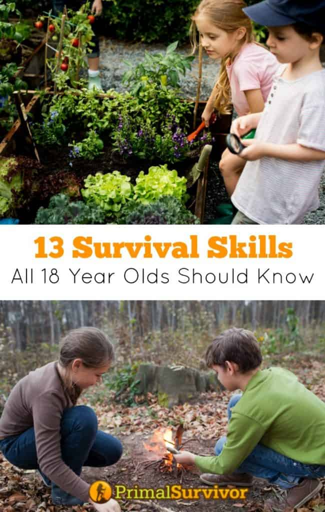 13 Survival Skills All 18 Year Olds Should Have A Checklist for Parents