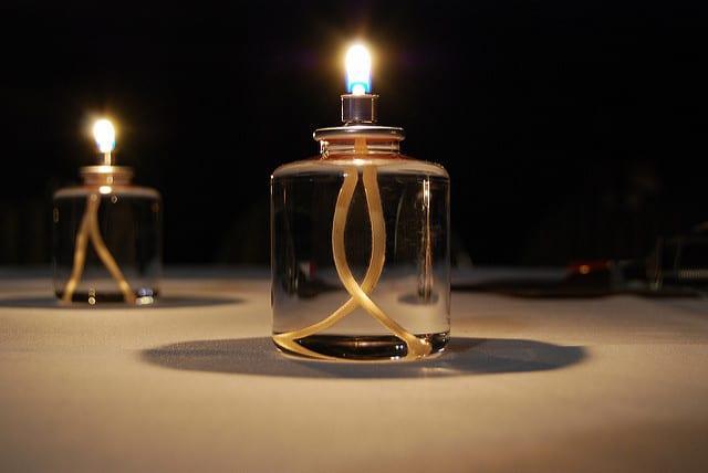 emergency oil lamp
