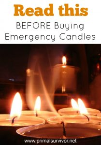 What You Need to Know before Buying Emergency Candles