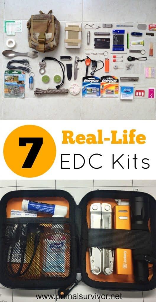 7 Real Life EDC Kits for Emergency Preparedness