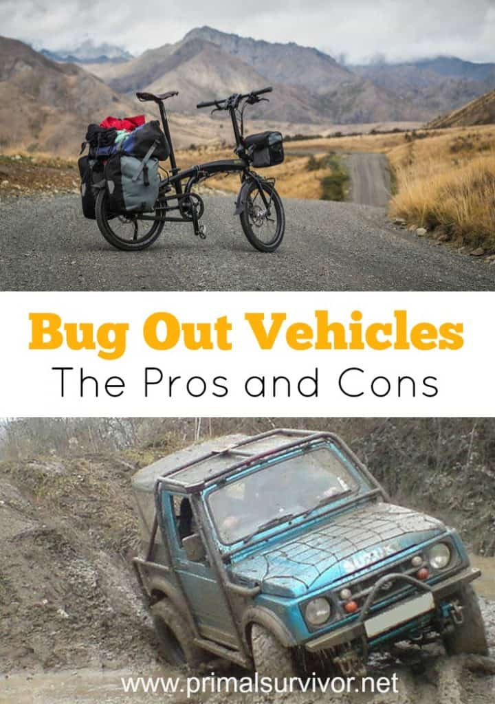 This Guide Perfectly Explains the Pros and Cons of Each Bug Out Vehicle Choice