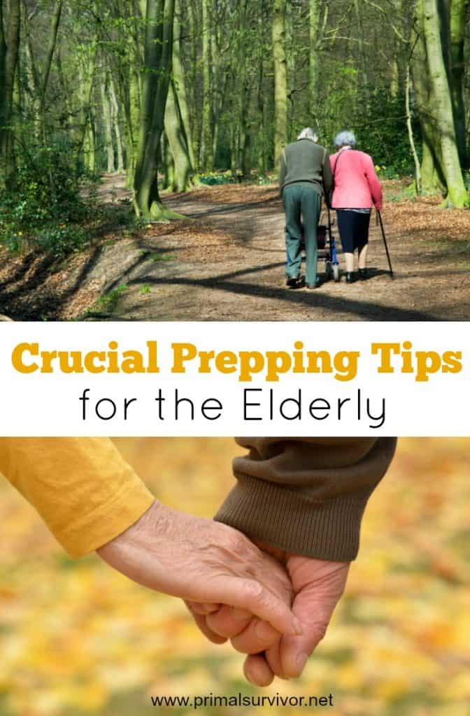 Crucial Prepping Tips for the Elderly