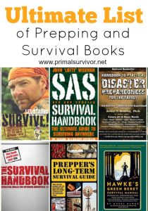 Ultimate List of Prepping and Survival Books