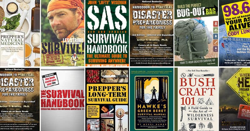 The Ultimate List Of Best Prepping And Survival Books