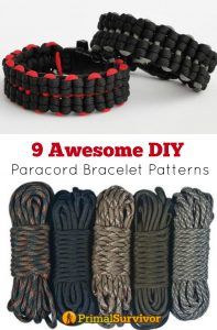 17 Awesome DIY Paracord Bracelet Patterns With Instructions
