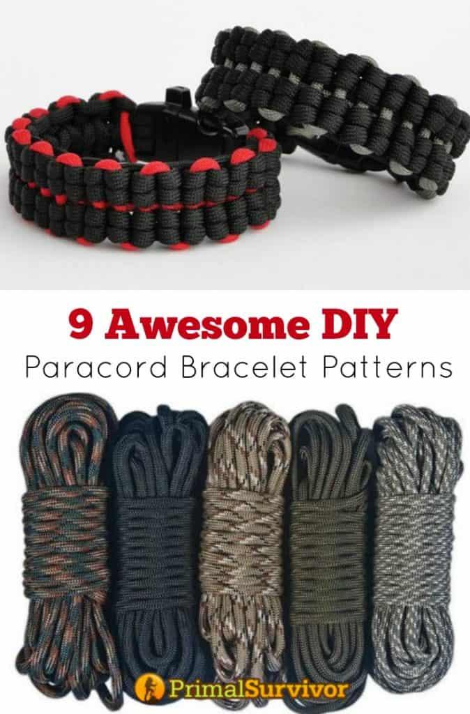 9 Awesome #Paracord #Bracelet #Patterns