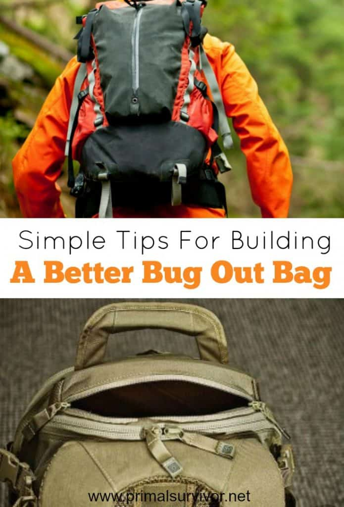 Simple Tips for Building a Better Bug Out Bag