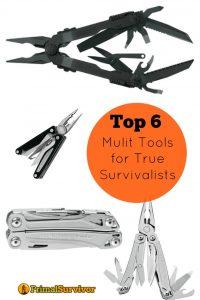 Top 6 Multi Tools for True Survivalists