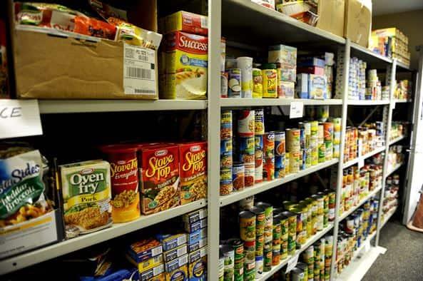 emergency food stockpile