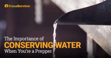 The Importance of Conserving Water When You're a Prepper