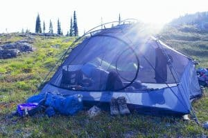 lightweight tent for bug out bag