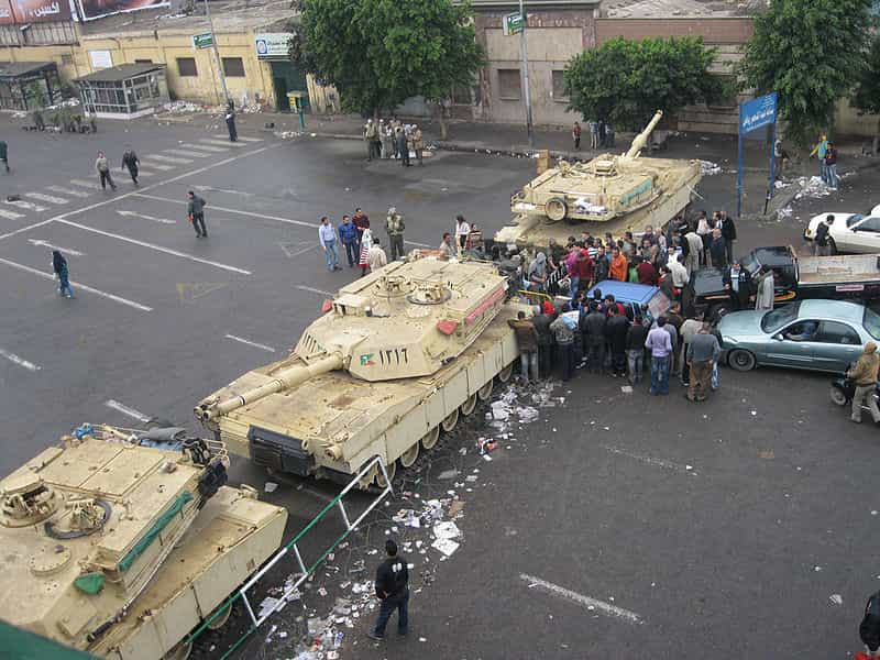 Martial law in Egypt