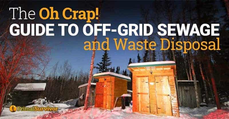 off grid sewage solutions