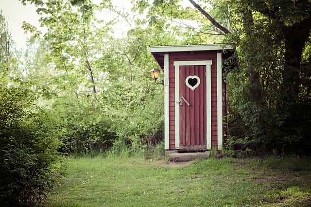 pit latrine outhouse