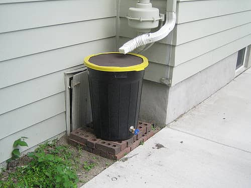 trashcan rainwater barrel