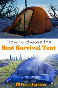 How to choose the best Survival Tent