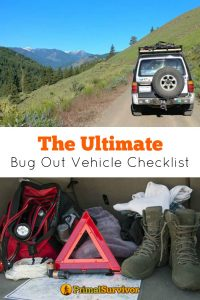 The Ultimate Bug Out Vehicle Checklist