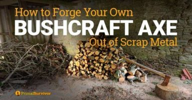 How to Forge Your Own Bushcraft Axe Out of Scrap Metal