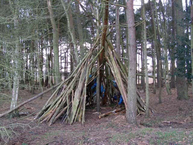Another modified Tipi Shelter
