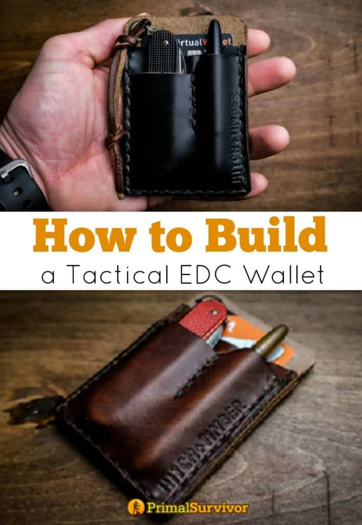 How to build a tactical edc wallet for a disaster preparedness