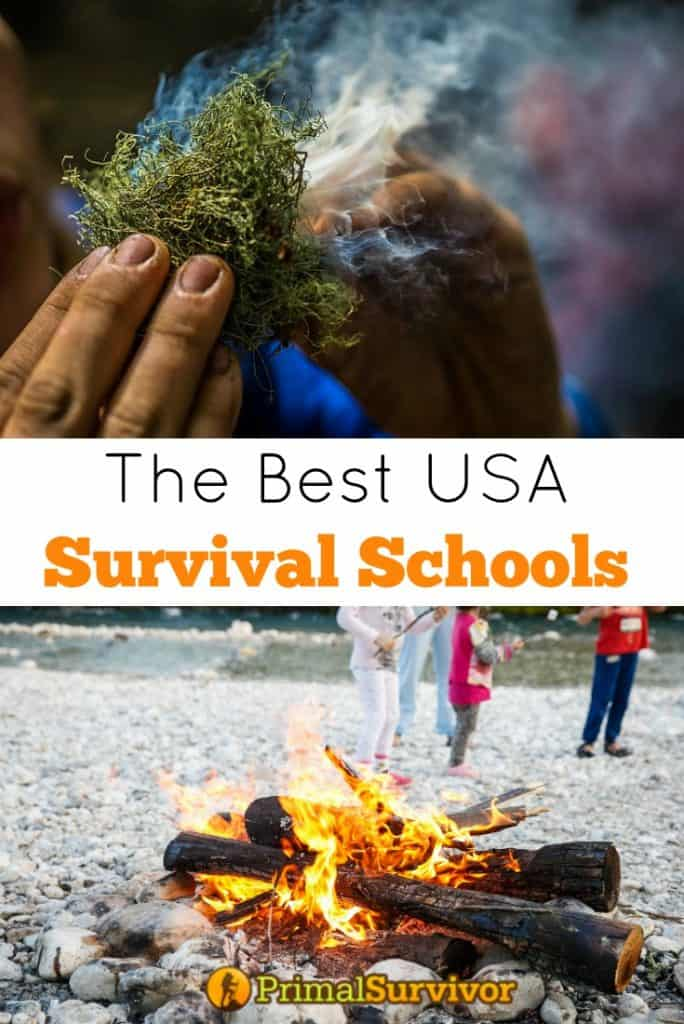 The Best USA Survival Schools for those considering taking a survival course