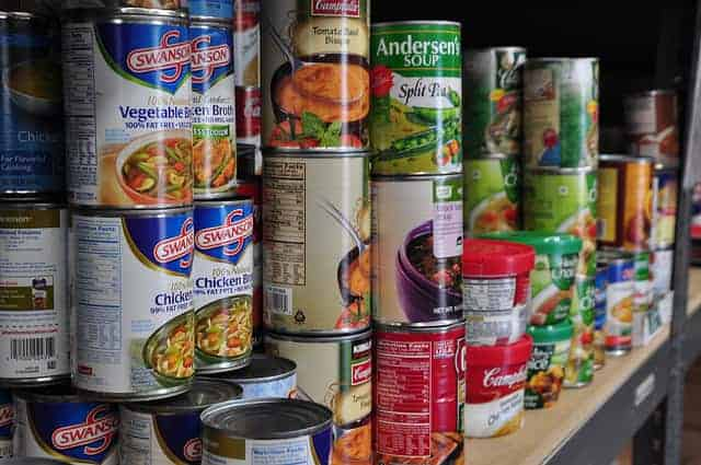 canned food shelf life & 6 Options for Survival Food Storage Containers