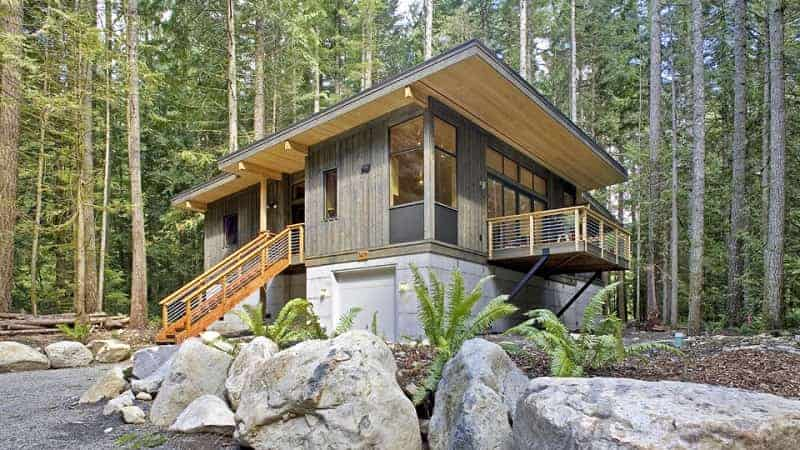 10 amazing off grid homes that you can get today for Custom modular homes washington