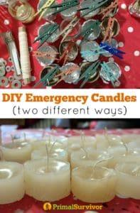 #DIY #Candles for #Emergency Preparedness