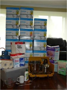 emergency supplies for infants