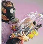 infant gas mask