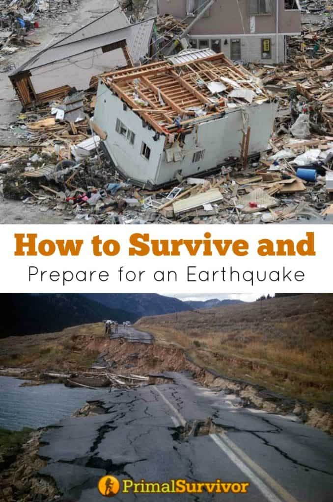 How to #Survive and #Prepare for an #Earthquake