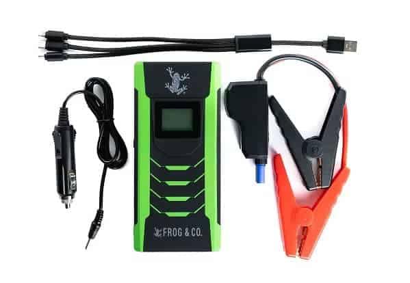 pocket emergency jumper cables