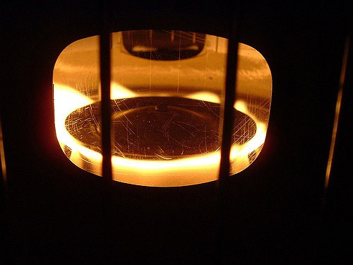 using a kerosene heater indoors