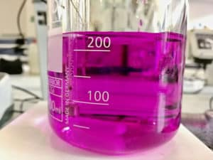 potassium permanganate solution