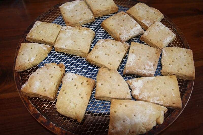 How to make hardtack biscuits