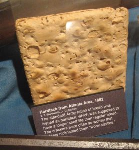 Hardtack in museum