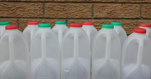 storing water in plastic bottles