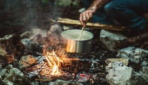 Cooking survival food