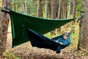 tarp over hammock