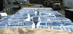 how much water to stockpile