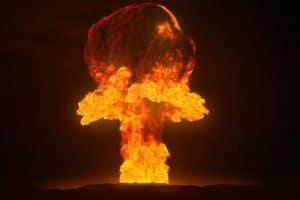 nuclear test blast