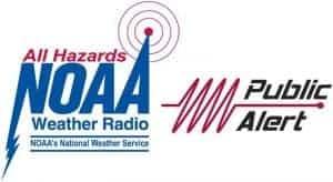NOAA public alert certified labels