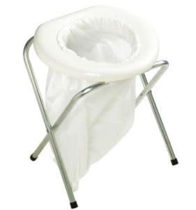 bag camping toilet