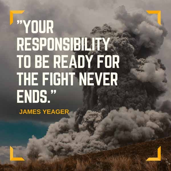 James Yeager Quote Graphic
