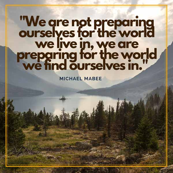 Michael Mabee Quote Graphic
