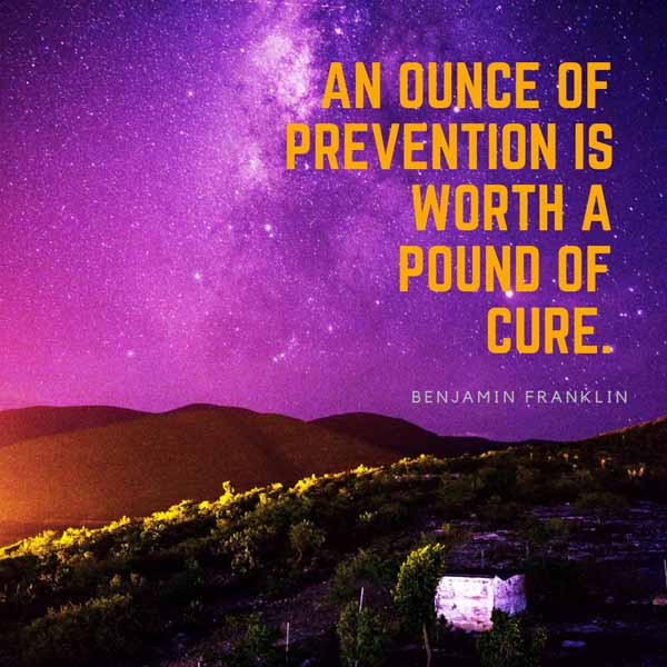 Benjamin Franklin Quote Graphic