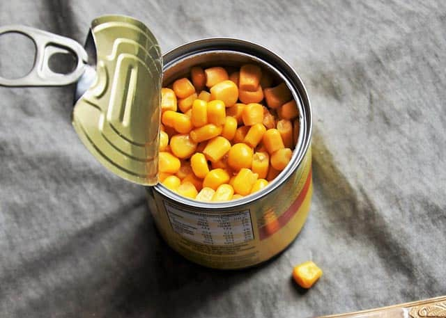 canned foods shelf life