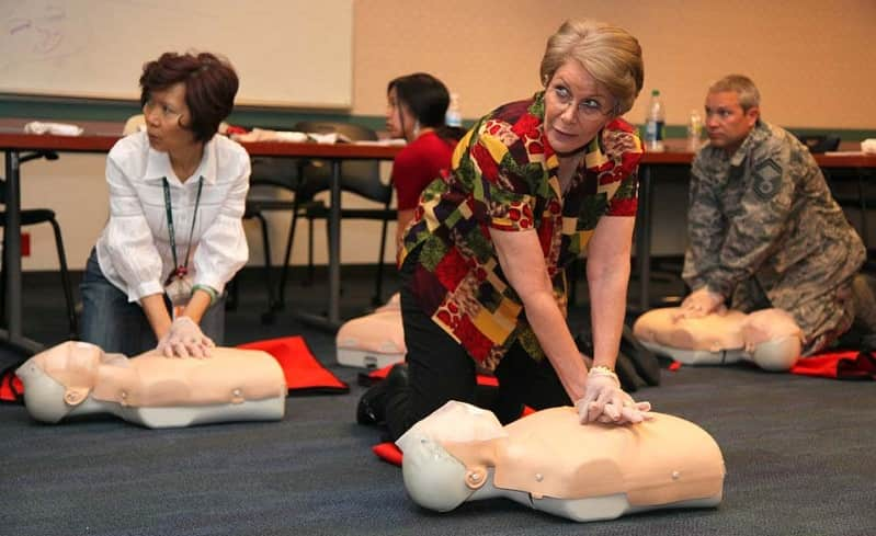 first aid course for emergency prepardness